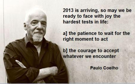 Wise words by Paulo Coelho