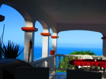 Perfect Tortola patio!