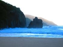 Blue hues at dusk in Tortola, BVI