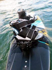 The sexy new, ultra comfortable wake-board