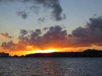 Breath-taking SXM sunset