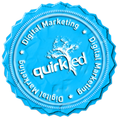 Quirk Certificate Course in Digital Marketing_Virtual Badge