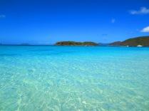A slice of heaven at Cinnamon Bay, St John, U.S.Virgin Islands