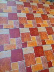 Colour walkways in Road Town, Tortola