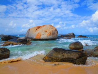 Virgin Gorda beach, British Virgin Islands