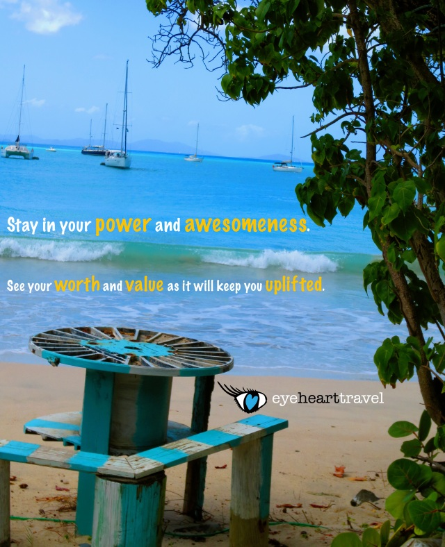 A photo-quote for today shot in Tortola, British Virgin Islands