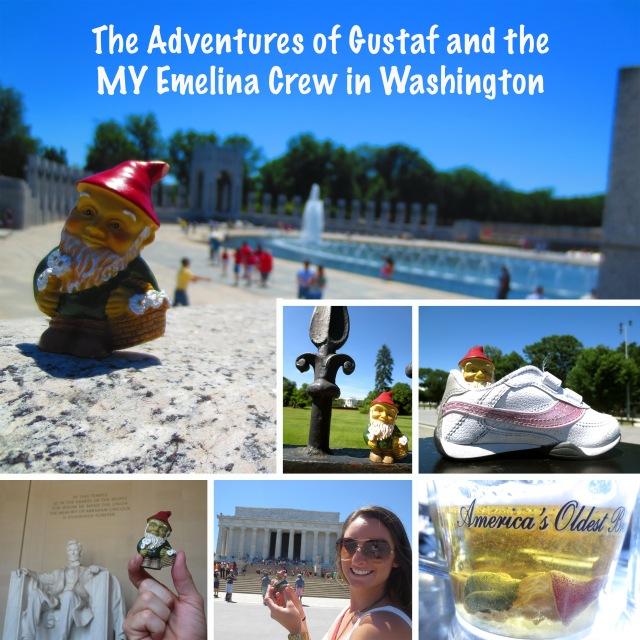 Gustaf and the MY Emelina Crew explore Washington DC