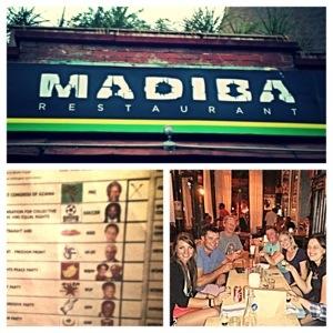 Great night out. Viva Madiba!