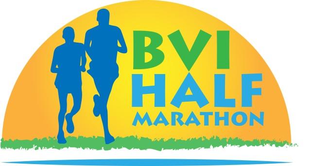 BVI Half Marathon logo design - Katie Wilter