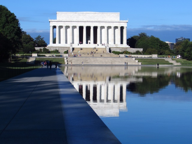 The Lincoln National Memorial and Reflecting Pool