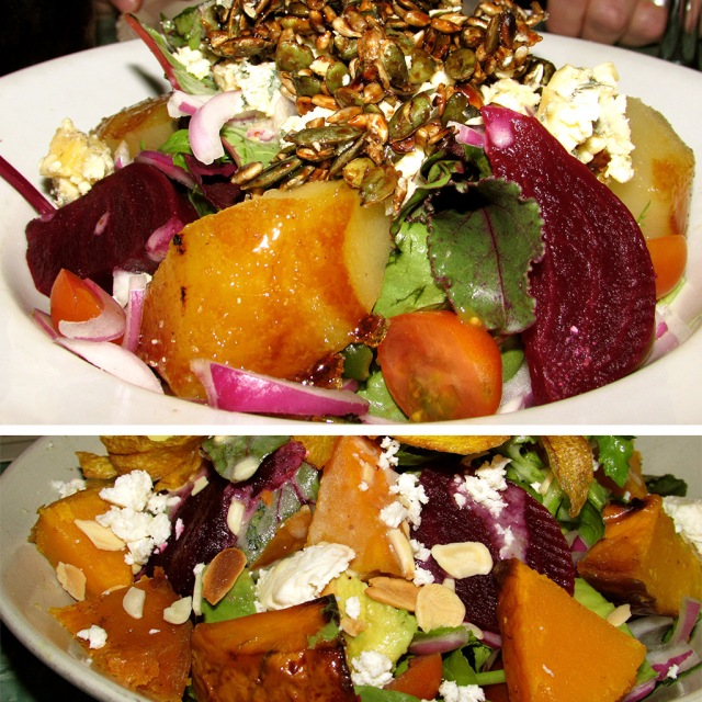 Delicious Woodlands Eatery salads. Healthy and so tasty!