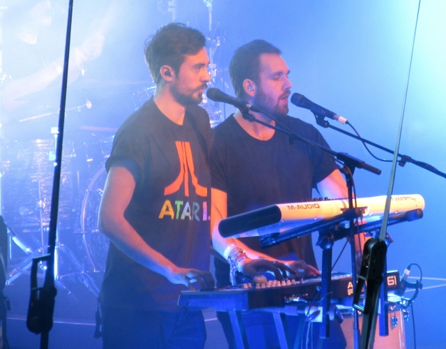 Talented Bastille performing at Kirstenbosch Gardens in Cape Town