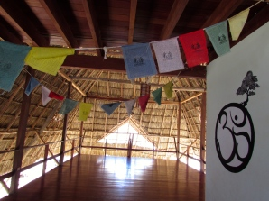 The chill zone yoga studio at Maderas Village
