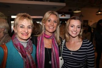 Mom, Sharni and I at the 'Follow the Sun' book launch