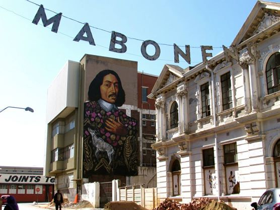 Wandering the streets of Maboneng