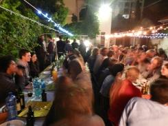 A pop-up dinner event at Victoria Court
