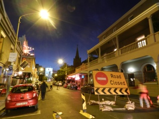 Long Street is often closed for festivals or events