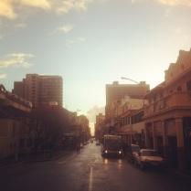 Dawn on Long Street