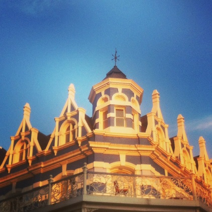 Iconic architecture along Long Street in Cape Town