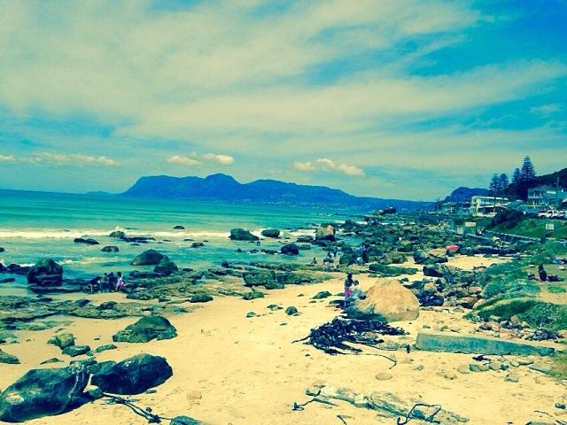 Scenic sea side