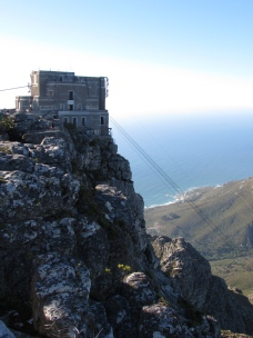 The station on top of Table Mountain