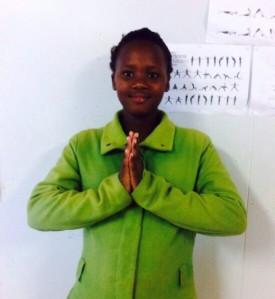 Shirley, aged 11.