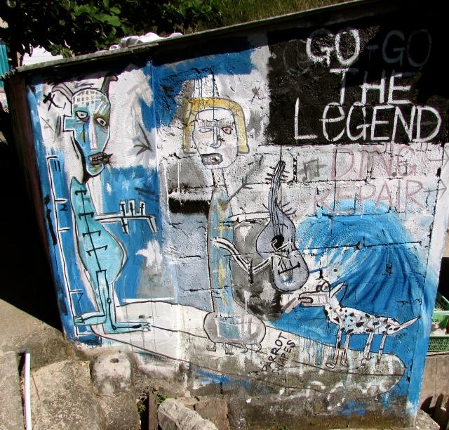 """""""Go the legend."""" Pic credit: Katie Wilter"""